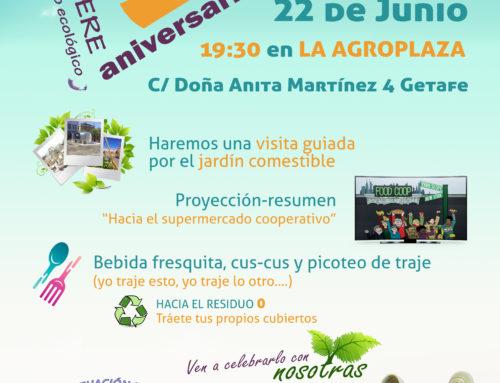 V aniversario de Biolibere Economato Ecológico