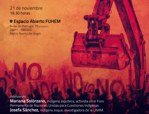 Debate sobre Extractivismo, megaproyectos y violencia