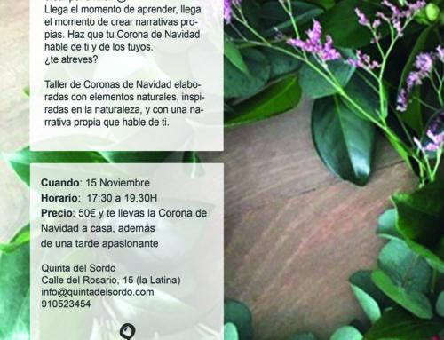 TALLER CREACIÓN CORONAS FLORALES