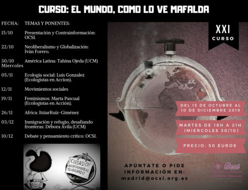 [OCSI] Curso: El mundo, como lo ve Mafalda