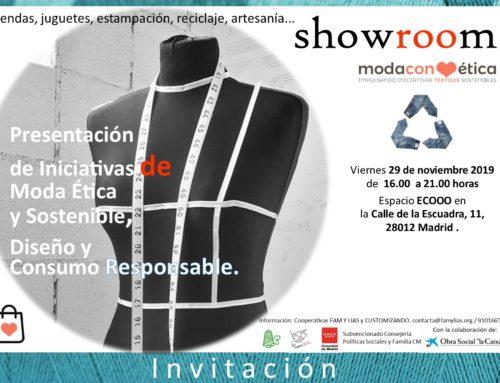 #SHOWROOM del proyecto MODACONÉTICA