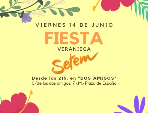 Fiesta veraniega de SETEM, el viernes 14 de junio