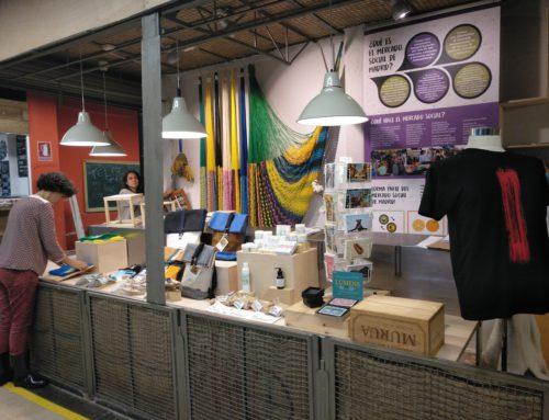 Nuevo puesto del Mercado Social de Madrid en el Mercado de San Fernando