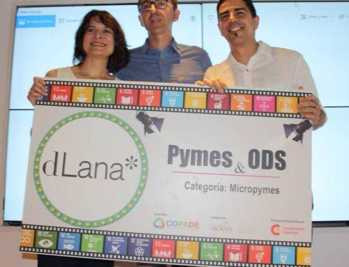 dLana, galardonada por la Fundación Copade como la mejor micropyme en aplicar los ODS