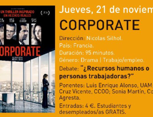 Cine debate: Corporate