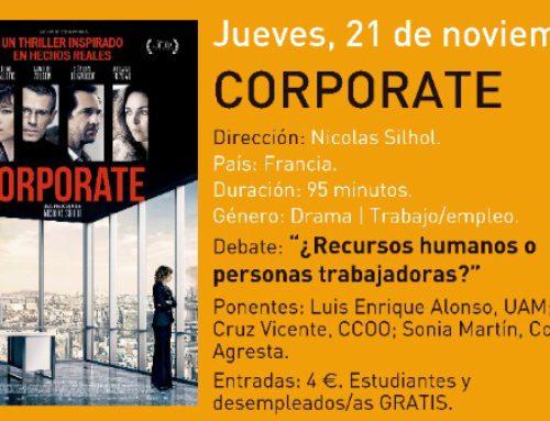 Cine debate: Corporate