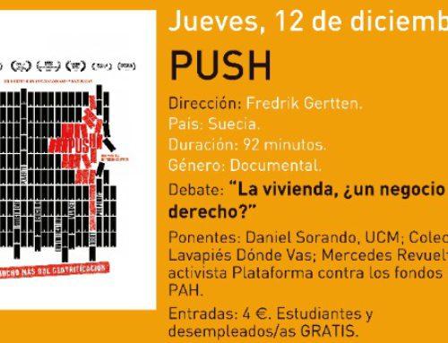 Cine debate: Push, mucho más que gentrificación