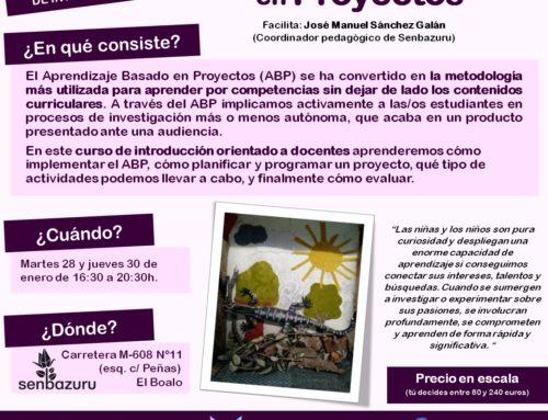 [Asociación Origami] Nuevo curso de «Aprendizaje Basado en Proyectos»