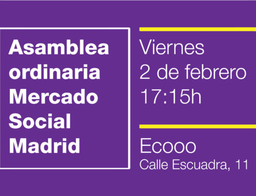 Asamblea ordinaria del Mercado Social de Madrid, viernes 2 de febrero