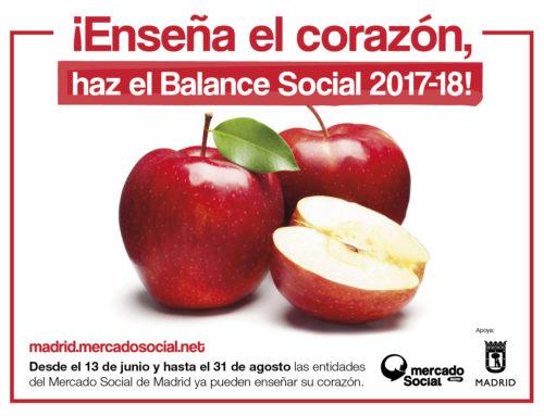 Empieza la campaña de Balance Social 2018