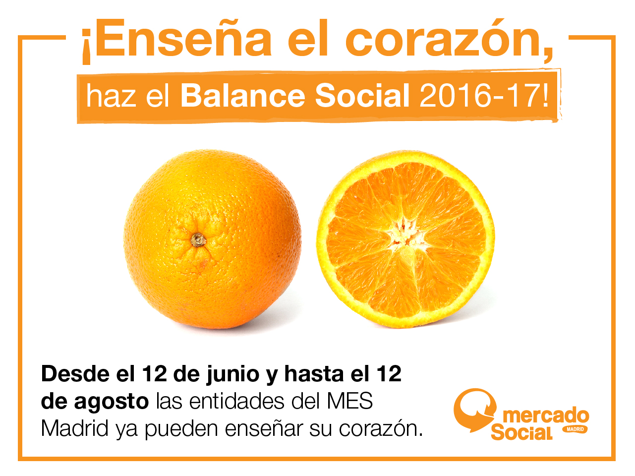 ¡Enseña el corazón, haz el Balance Social 2016-2017!