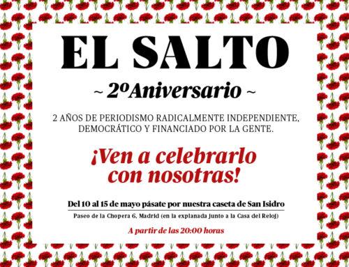 Segundo aniversario de El Salto: ¡ven a celebrar!
