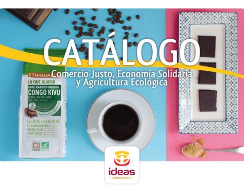 IDEAS lanza su nuevo catálogo de productos Bio y Justo