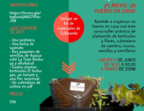 [Cultivando] Tienda abierta… ¡con curso de Germinando incluido!