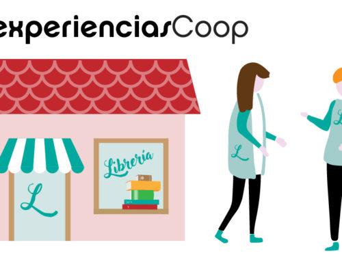 Puesto de información del Mercado Social de Madrid. Lugar de venta y encuentro de la economía social y solidaria madrileña