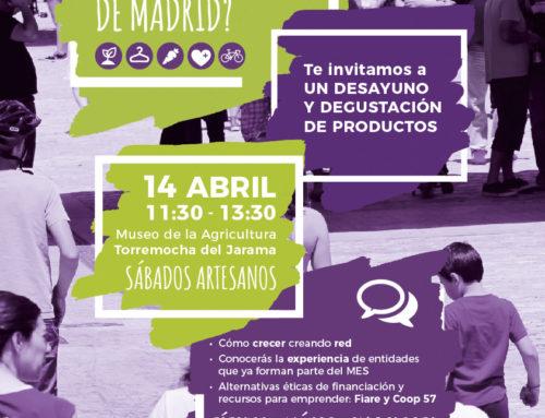 Encuentro del Mercado Social en el norte de Madrid